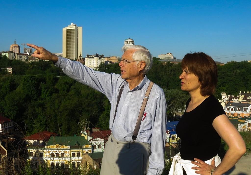 Dad in Kiev